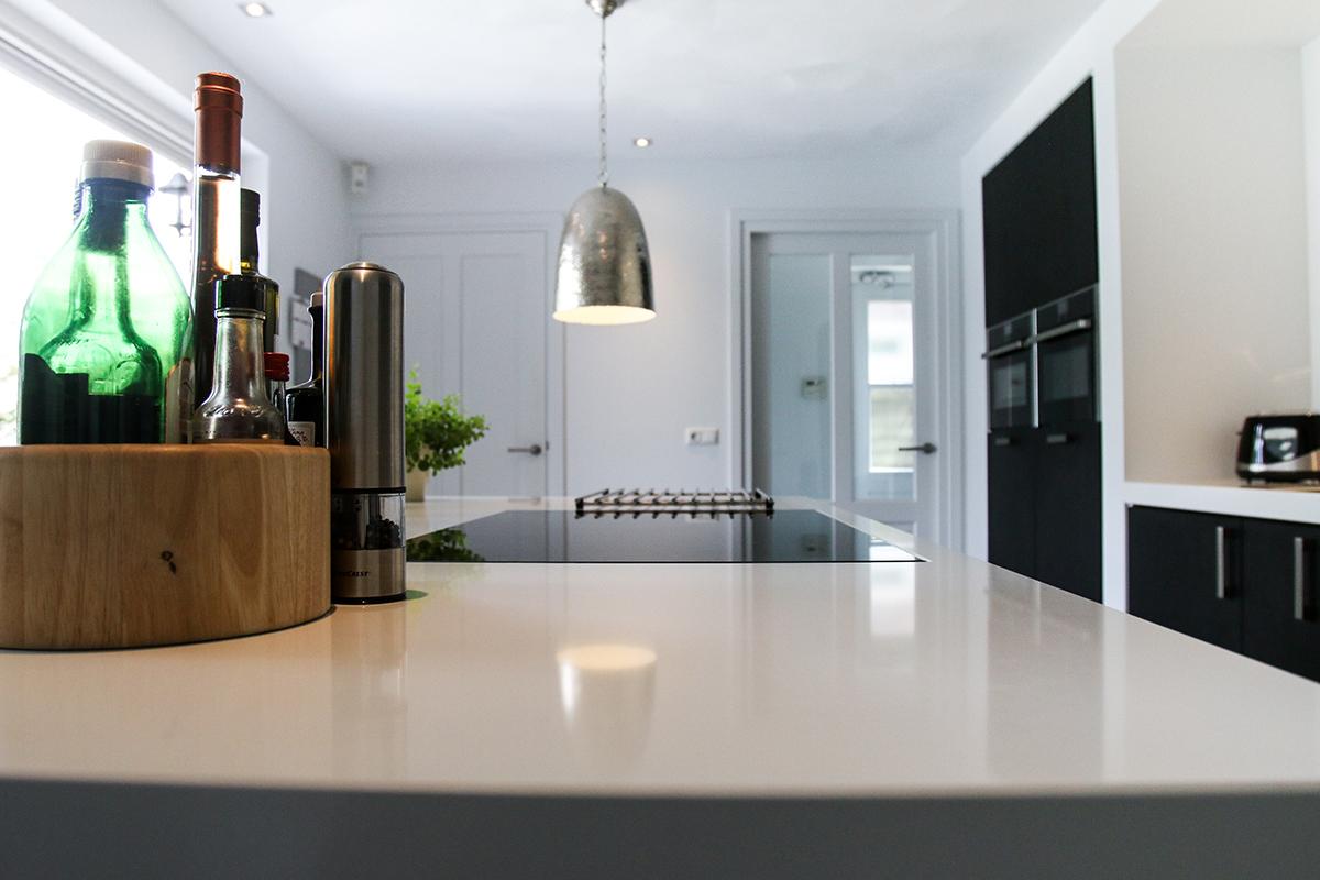 Nieuwe keuken en herindeling achterbouw