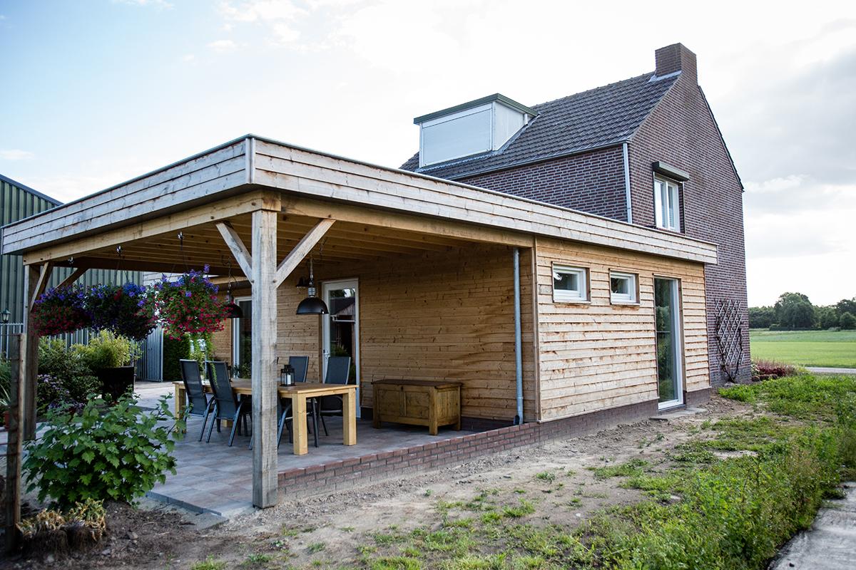 Aanbouw tuinderswoning