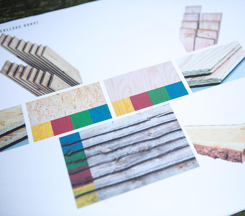 Uitwerking ontwerp in kleur, licht en inrichting