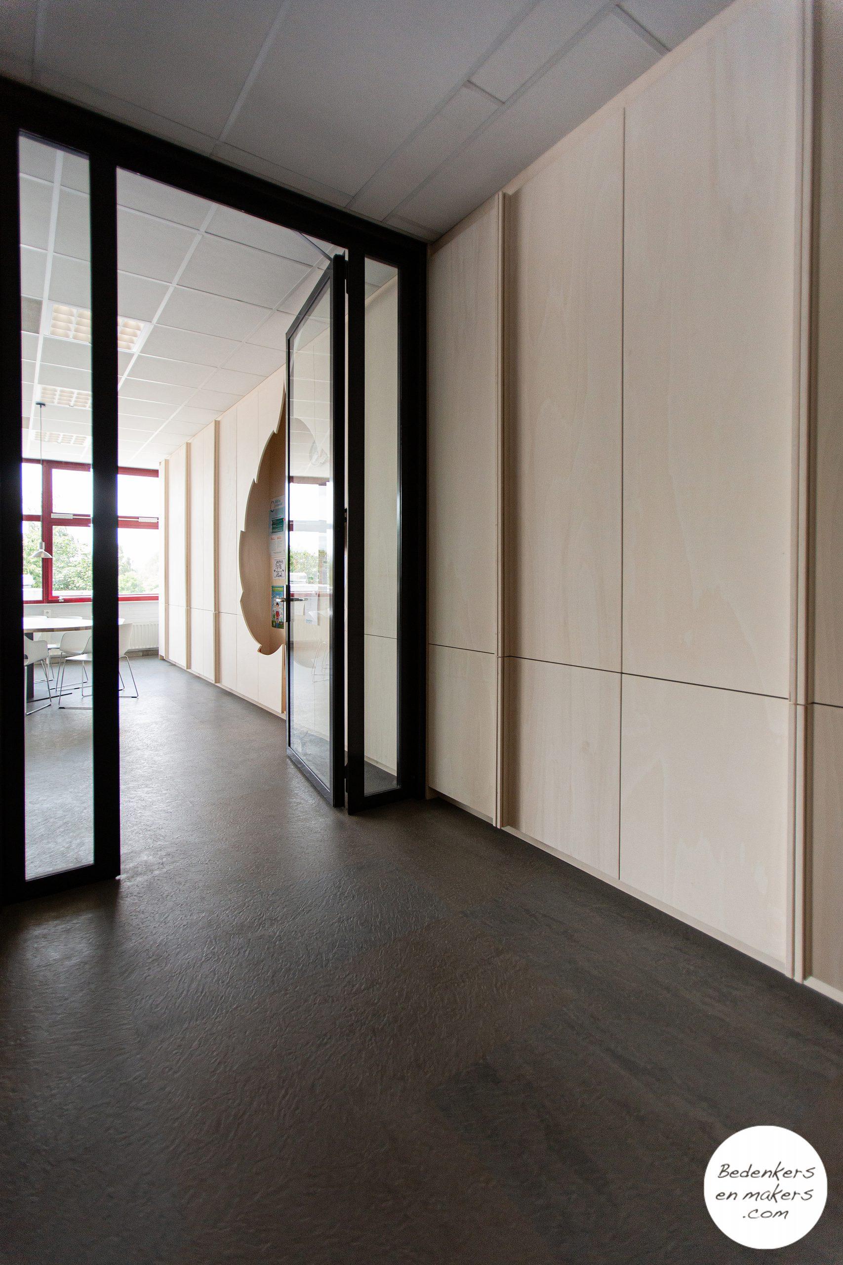 Een moderne, uitnodigende personeelskamer