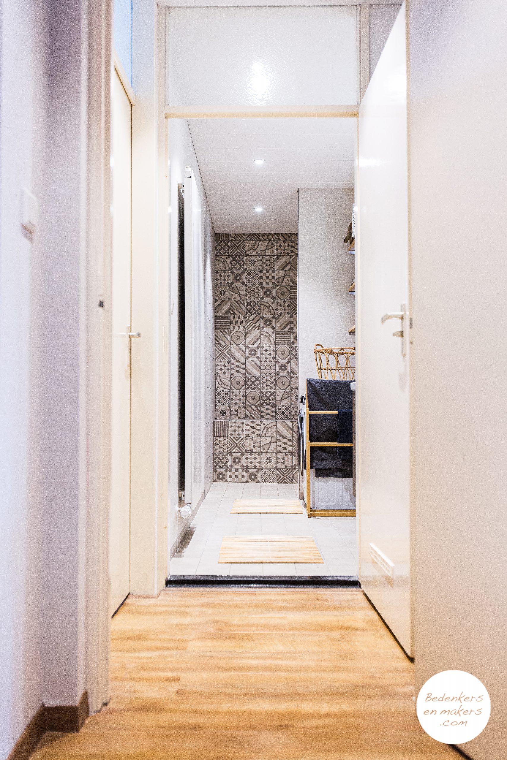 Verbouwing keuken en badkamer in een appartement
