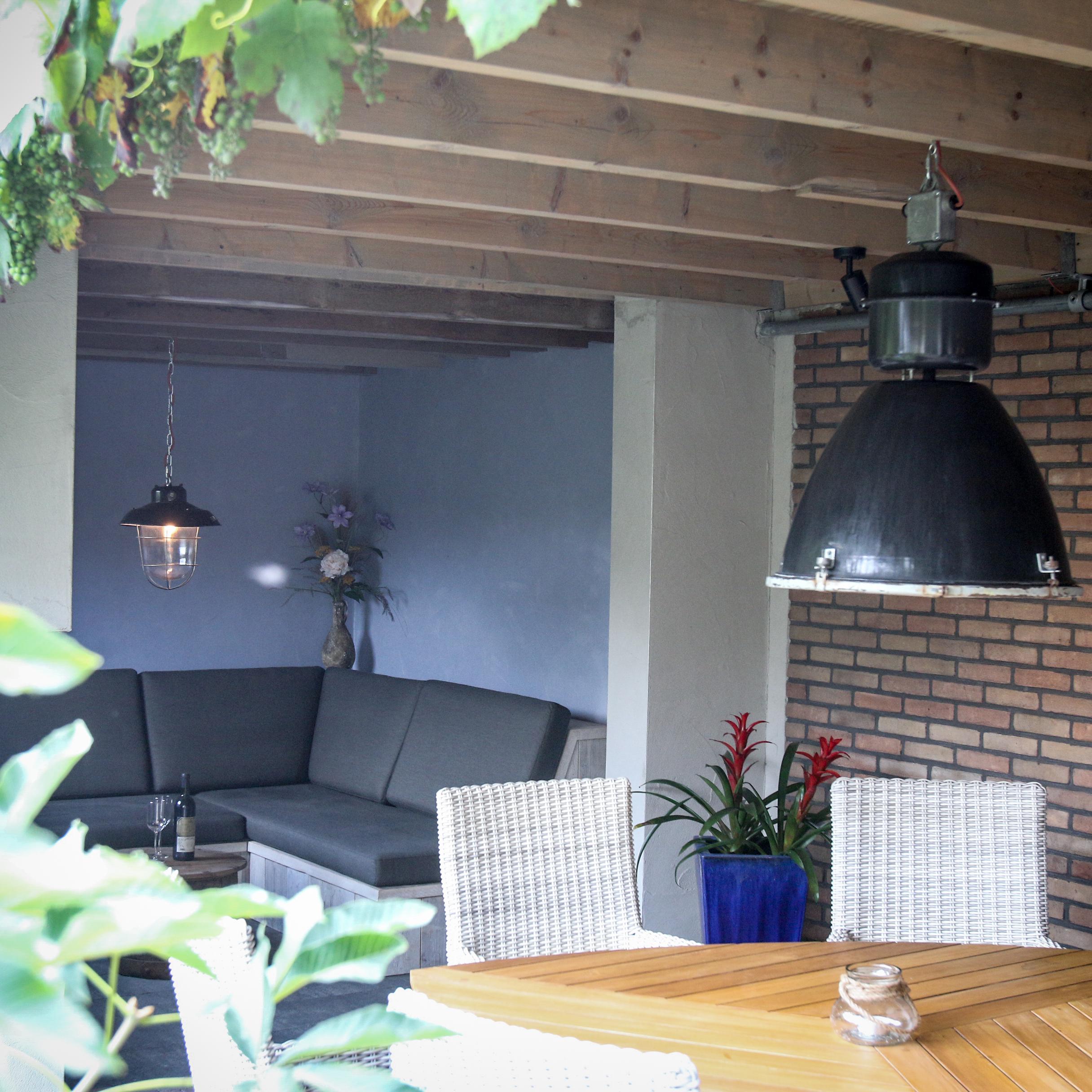 Afdak, veranda of buitenkeuken?