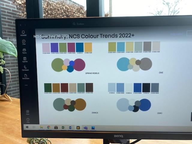Trends in kleuren 2022+